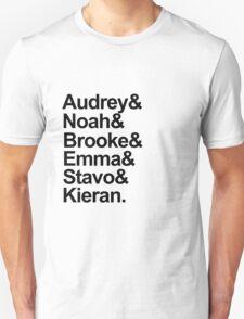 Scream Characters Unisex T-Shirt