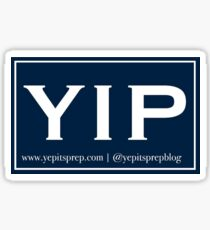 YIP Navy Sticker Sticker