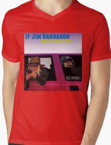 Young Harbaugh Mens V-Neck T-Shirt