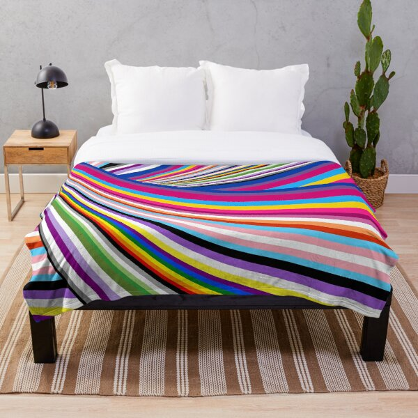 Pride flags Throw Blanket