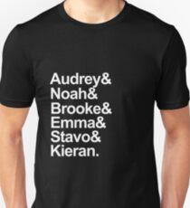 Scream Characters-- White Unisex T-Shirt