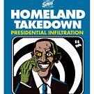 HomeLand Takedown by waxmonger