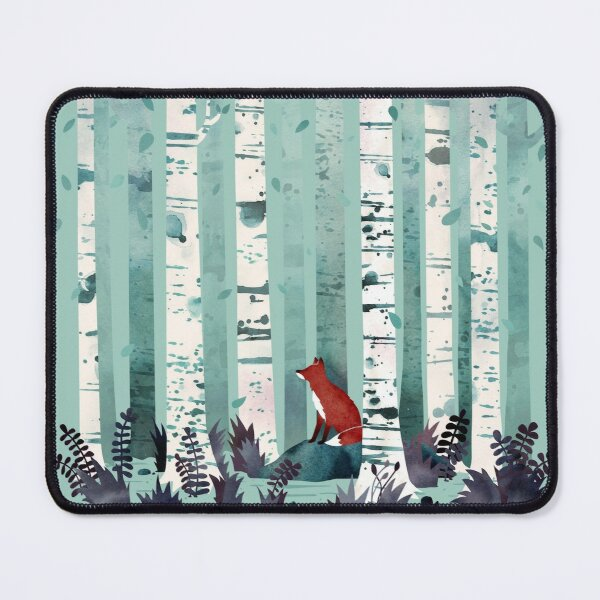 The Birches Mouse Pad