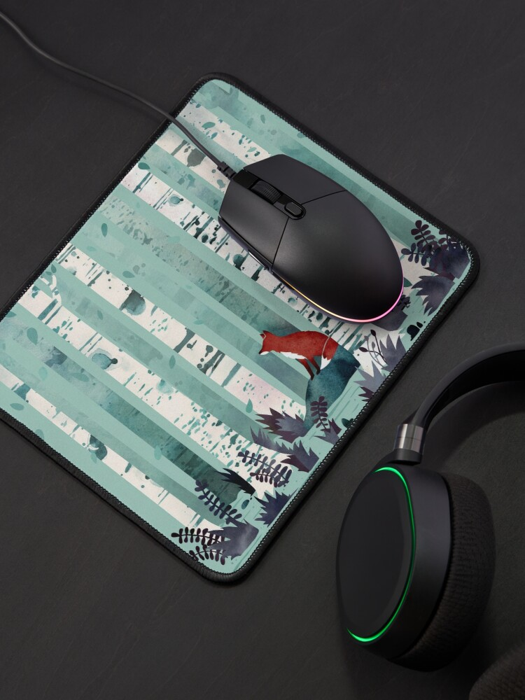 Alternate view of The Birches Mouse Pad