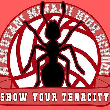 Wakutani Minami - Haikyuu!! Fan Logo by spacespud