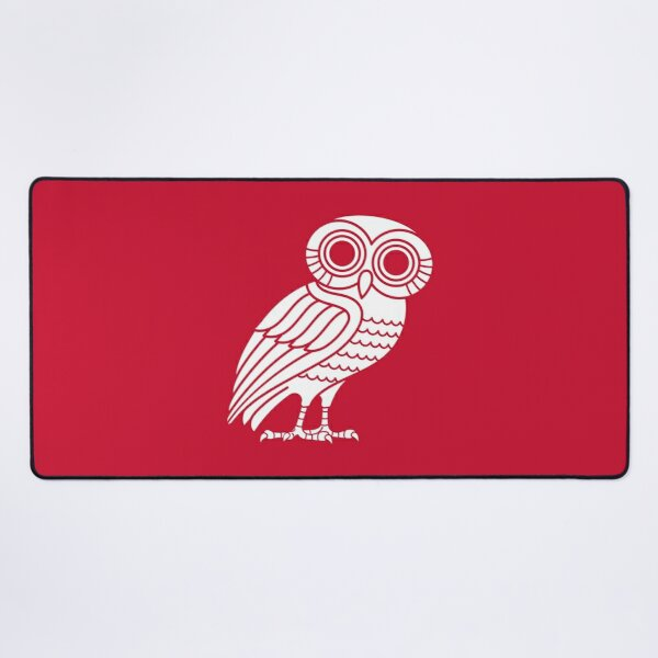Athenian Owl #2 Desk Mat