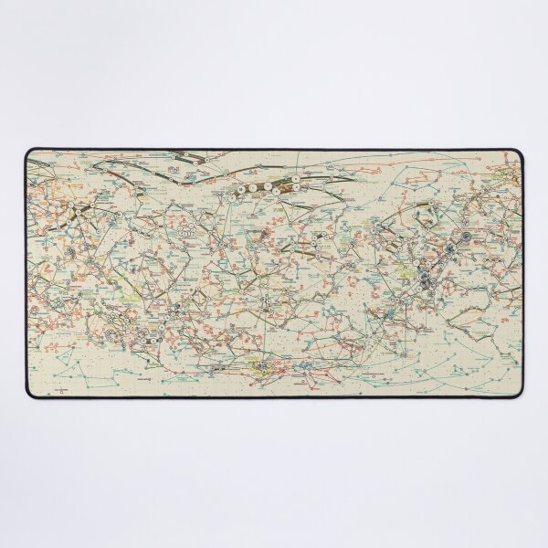 World Constellations Desk Mat