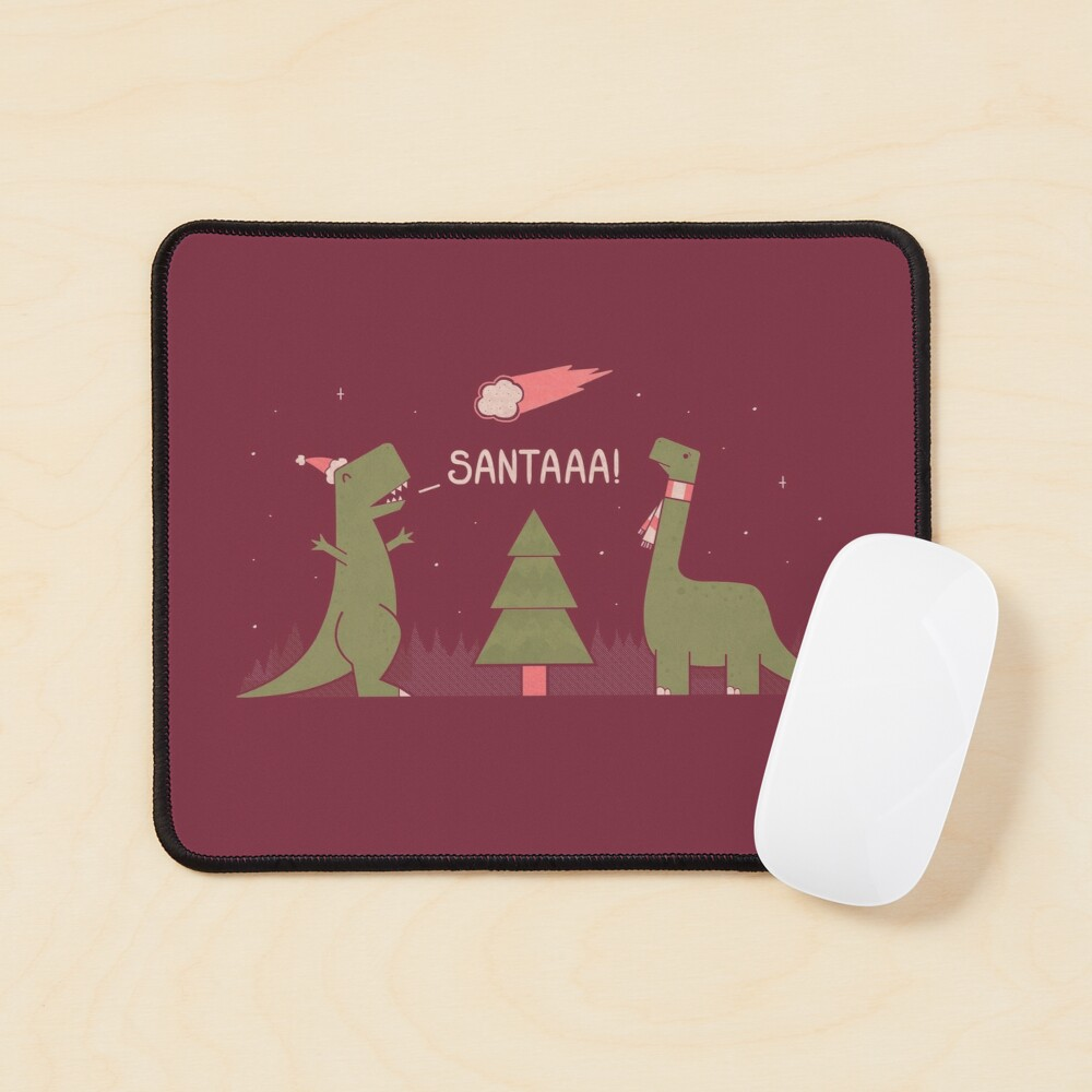 Merry Extinction Mouse Pad