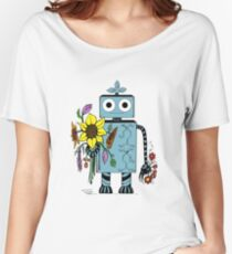 Lina The Robot Women's Relaxed Fit T-Shirt