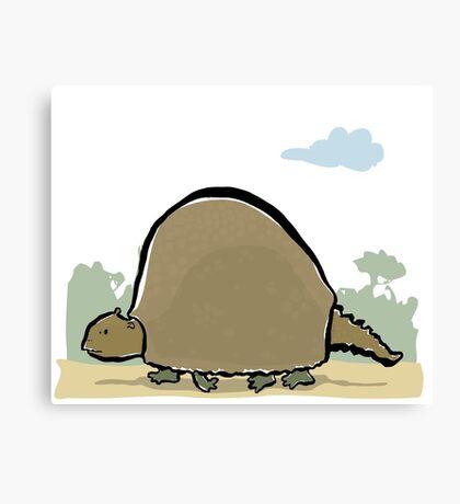 glyptodon Canvas Print