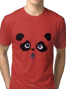 Panda eyes Tri-blend T-Shirt