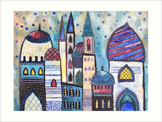 Eastern City by olgamilovich