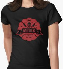 Camp Wasteland Womens Fitted T-Shirt