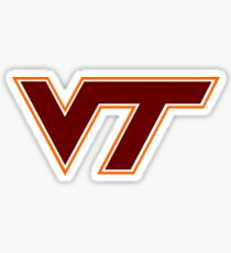 Virginia Tech Sticker