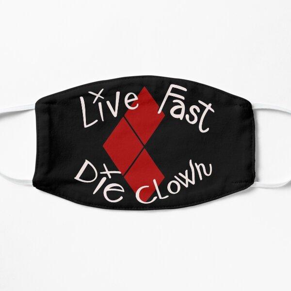 Live Fast Die Clown harley Masque sans plis