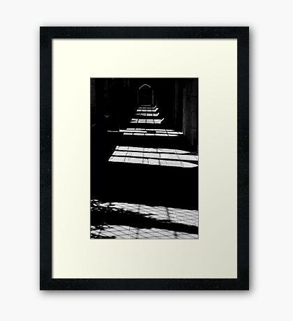 The Quad Framed Print