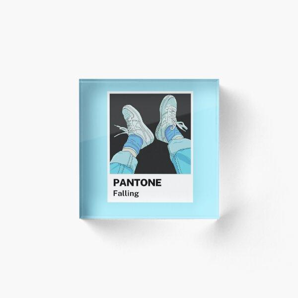 Pantone Falling Acrylic Block