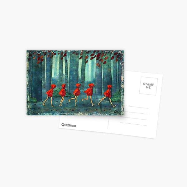 5 lil reds 1 Postcard