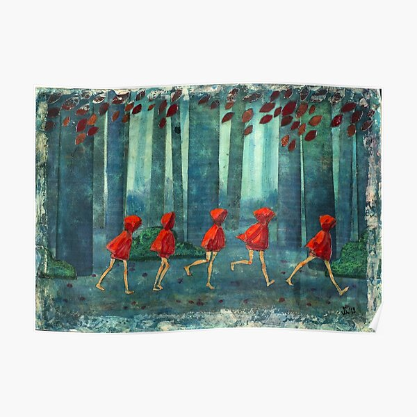 5 lil reds 1 Poster