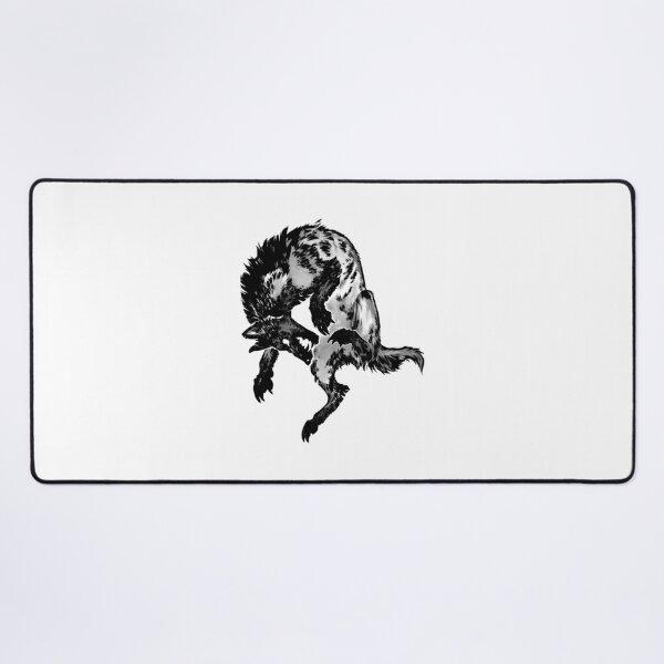 Hyena  Classic T-Shirt- Halloween T-Shirt Desk Mat
