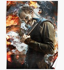 Floki- Fire and ash Poster