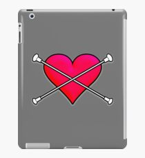 Liebe Baton Twirling Design 2 iPad-Hülle & Klebefolie