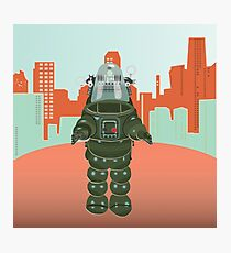 Sci Fi Robot Photographic Print