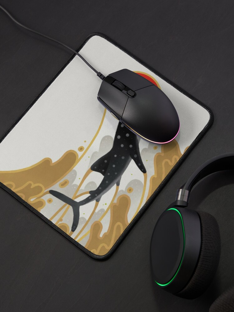Alternate view of Whale shark Mouse Pad