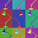 Multi Angle poise Lamp by kerriestuff
