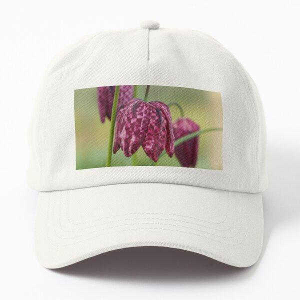 Pretty snake's head fritillary Dad Hat