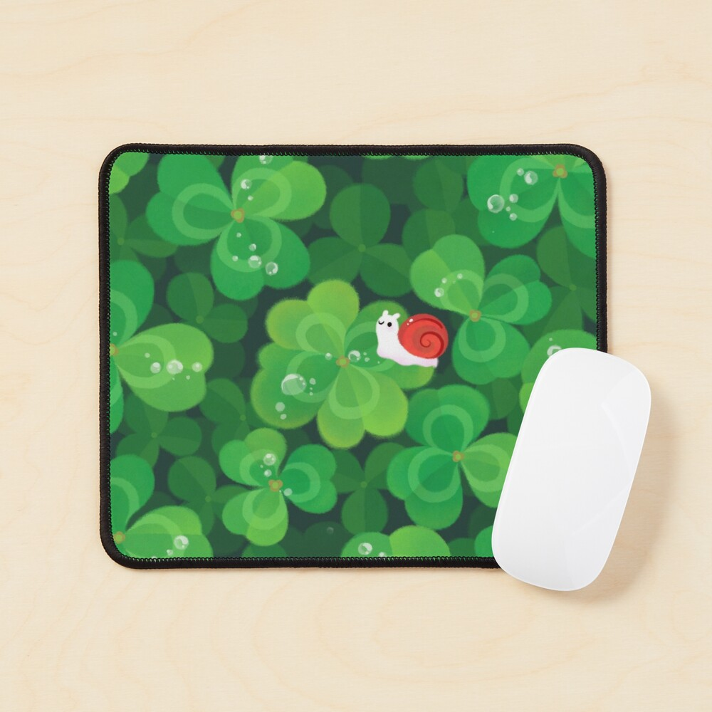 Happy lucky snail Mouse Pad