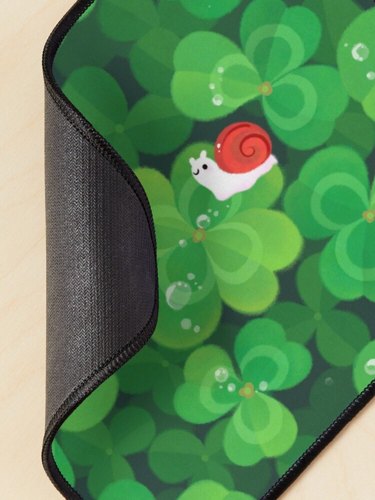Alternate view of Happy lucky snail Mouse Pad
