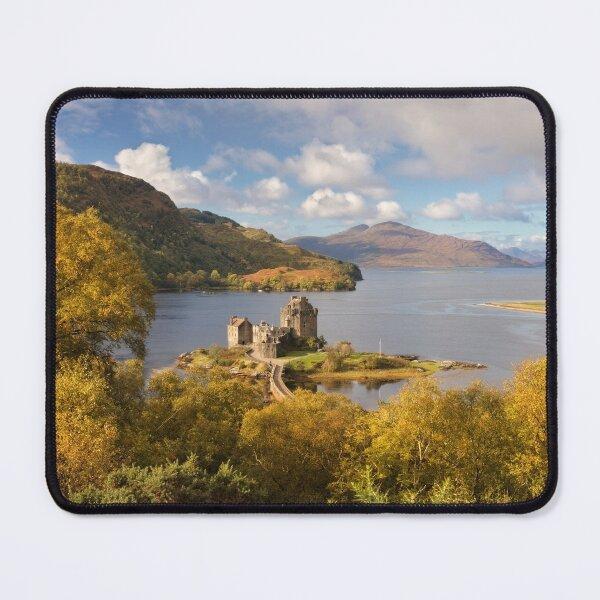 Eilean Donan Castle in Fall Carr Brae Scotland. Mouse Pad