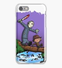Freddy and Jason Parody mash up iPhone Case/Skin
