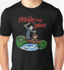 Freddy and Jason - C&H Mash Up T-Shirt