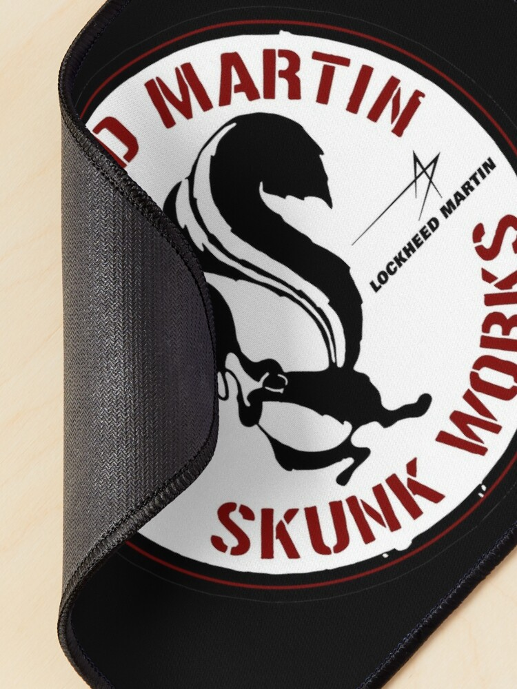Alternate view of Skunk Works - ADP Roundel Patch - Clean Style Mouse Pad