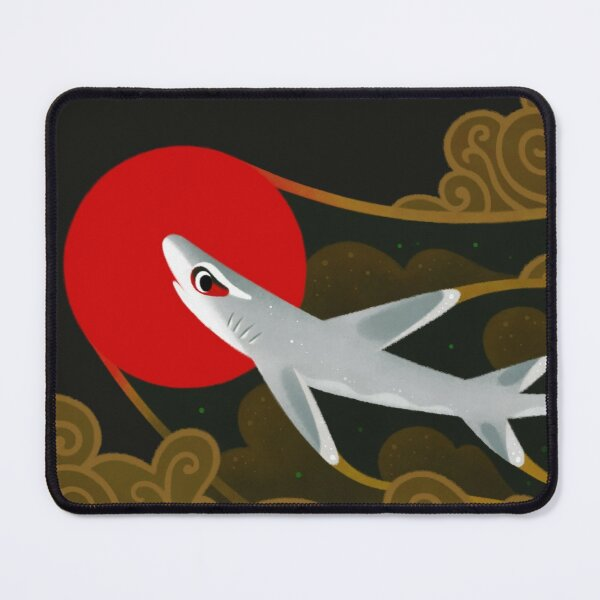 White Tip Reef Shark Mouse Pad