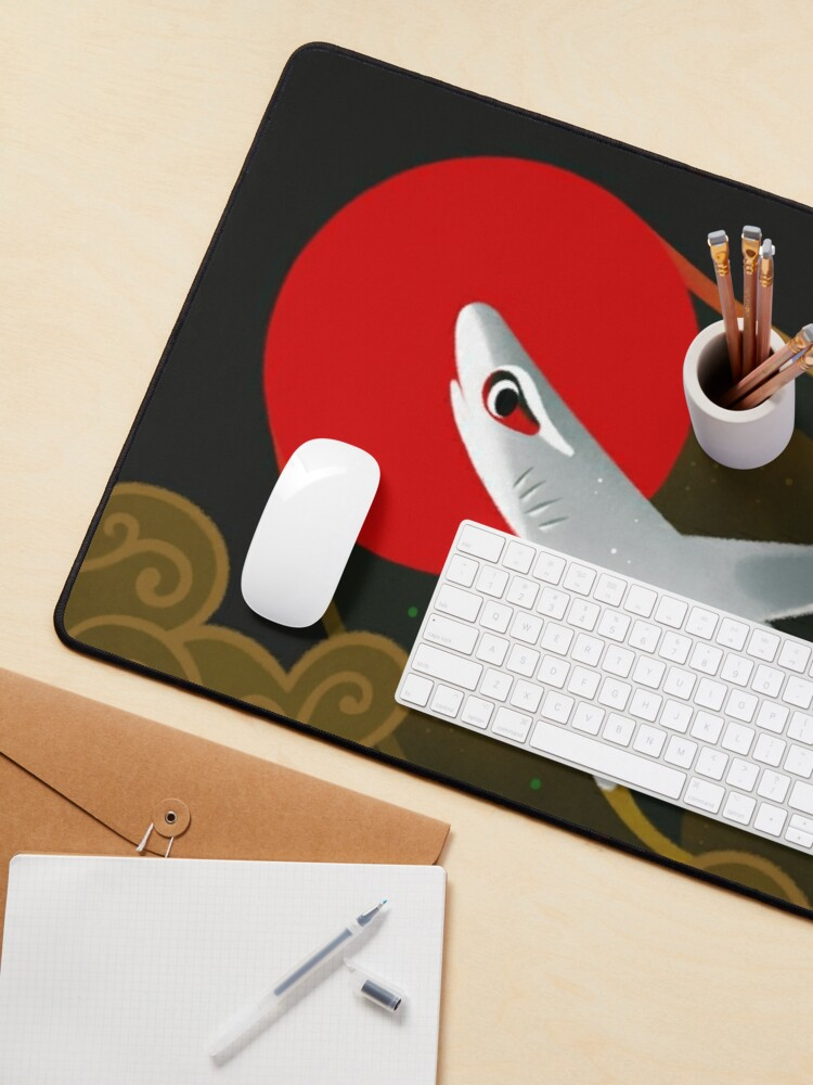 Alternate view of White Tip Reef Shark Mouse Pad
