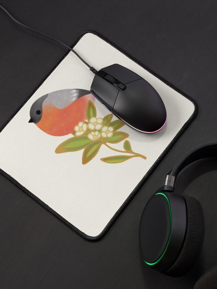 Alternate view of Eurasian bullfinch 2 Mouse Pad