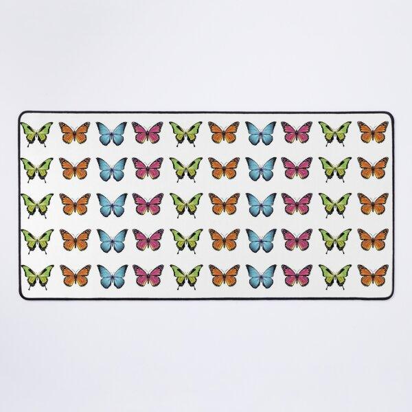 Butterfly Design Desk Mat