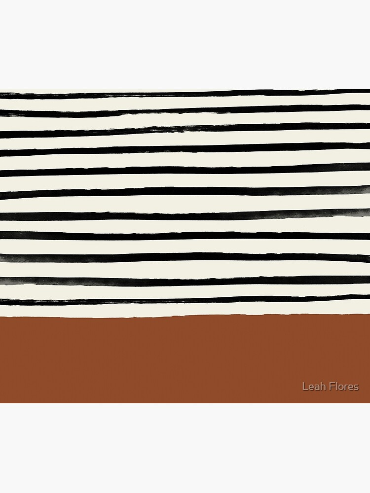 Burnt Orange x Stripes by adventurlings