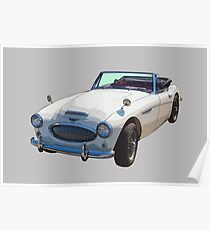 Austin Healey Sports Car: Posters | Redbubble