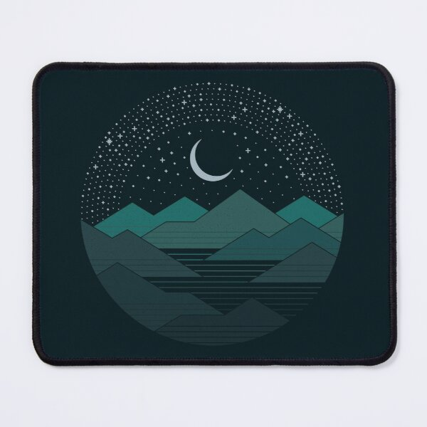 Between The Mountains And The Stars Mouse Pad