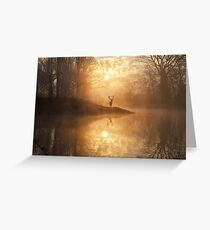 The hidden realm Greeting Card