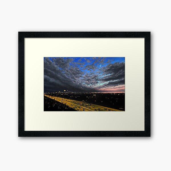 Night Cruiser Framed Art Print