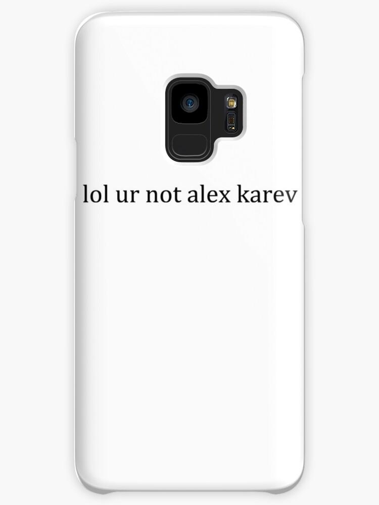 Fundas y vinilos para Samsung Galaxy «jajaja no alex karev» de ...