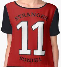 Stranger Things - 11 Women's Chiffon Top