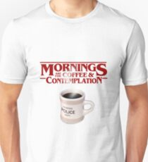 Stranger Things Coffee & Contemplation T-Shirt