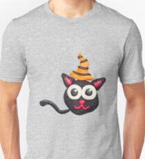 Black plasticine cat T-Shirt