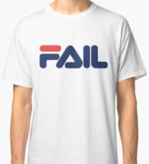 red and blue fail fila Classic T-Shirt